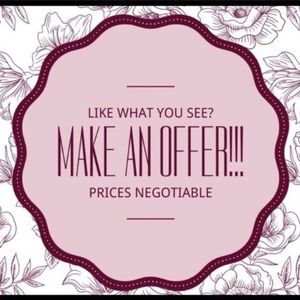 Reasonable offers accepted!!!